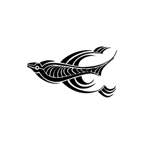 Tribal Fish C S Decal