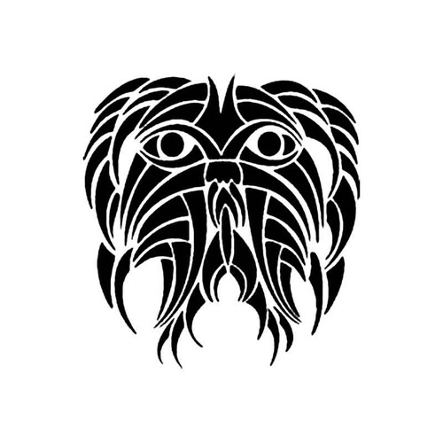 Tribal Fish S Decal