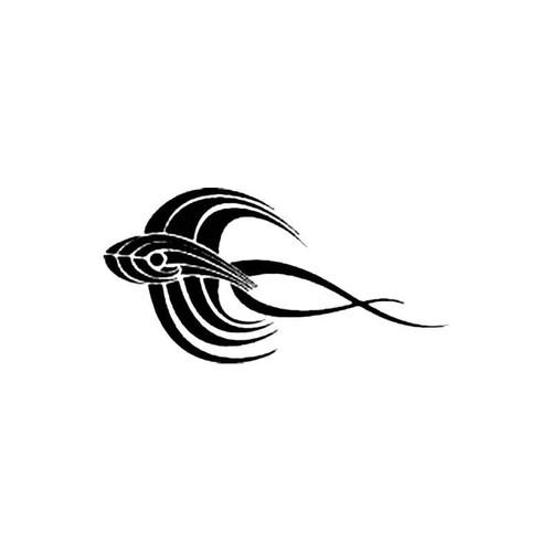 Tribal Fish J S Decal