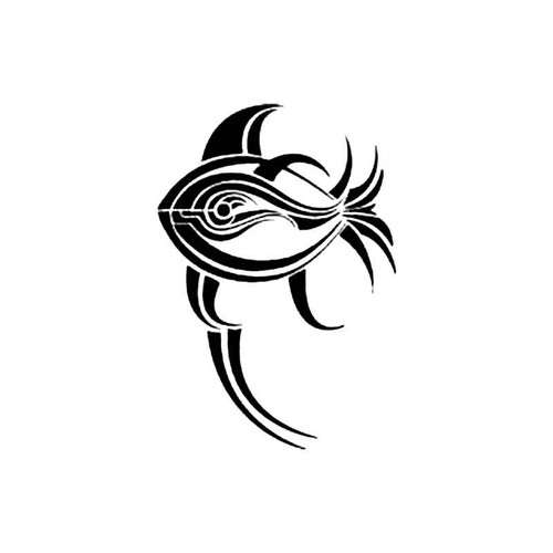 Tribal Fish K S Decal
