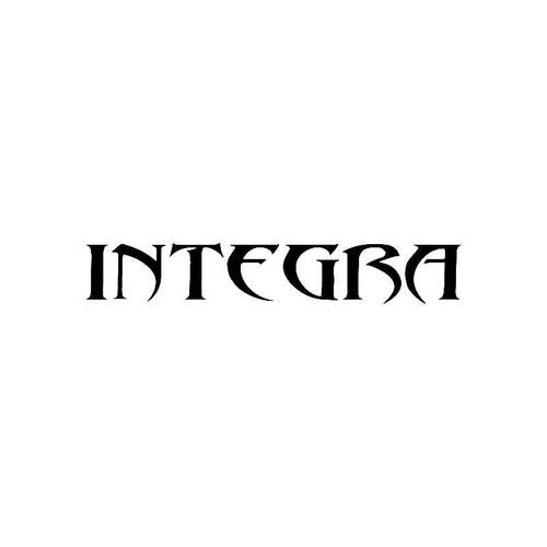 Tribal Integra2 Logo Jdm Decal