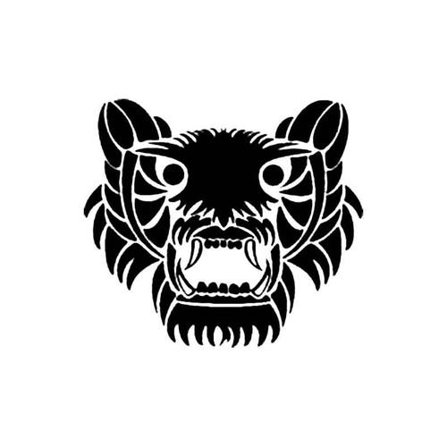 Tribal Lion Head S Decal