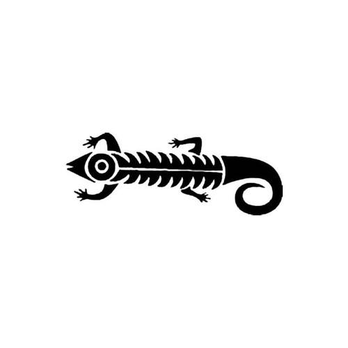 Tribal Lizard S Decal