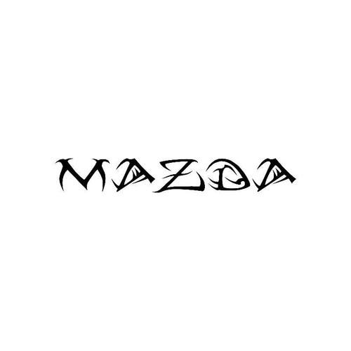 Tribal Mazda Logo Jdm Decal