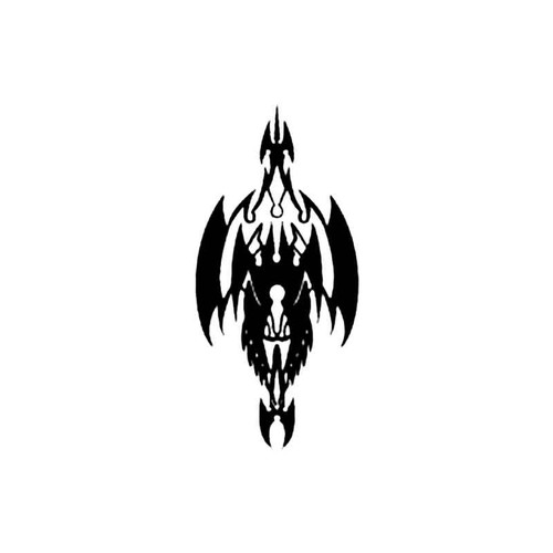 Tribal M S Decal