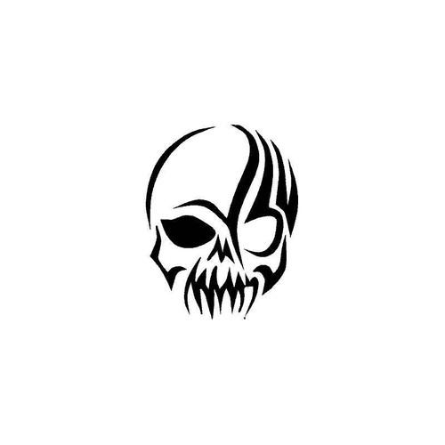 Tribal Skull 2 Decal