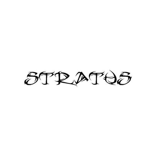 Tribal Stratus Logo Jdm Decal