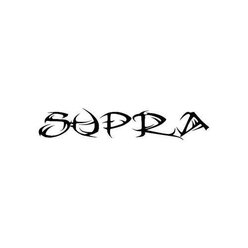 Tribal Supra Logo Jdm Decal