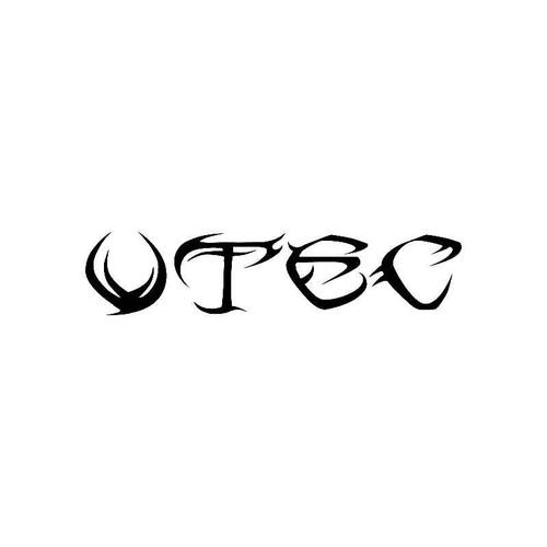 Tribal Vtec Logo Jdm Decal