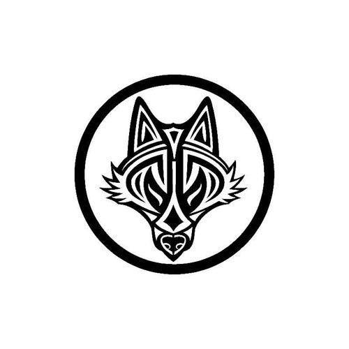 Tribal Wolf Ring Decal