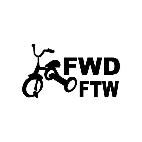 Tricycle Fwd Ftw Jdm Jdm S Decal