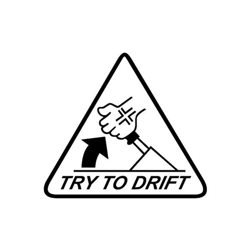 Try To Drift Jdm Jdm S Decal