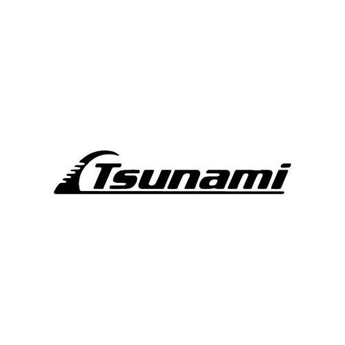 Tsunami Logo Jdm Decal
