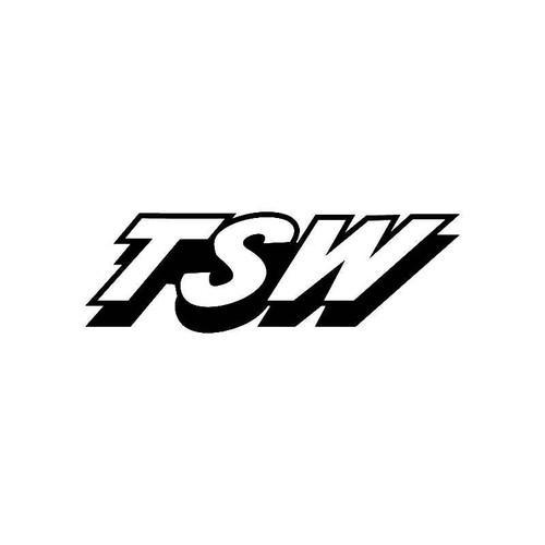 Tsw Logo Jdm Decal