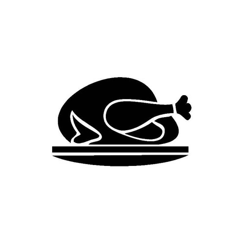 Turkey Dinner Decal