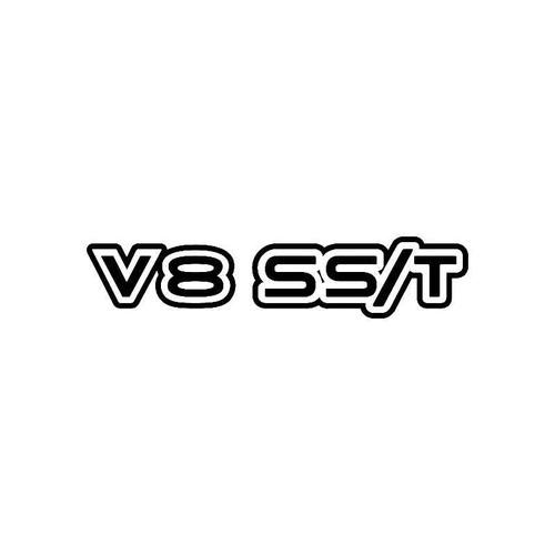 V8 Ss T Logo Jdm Decal
