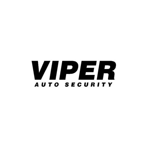 Viper Auto Security Decal