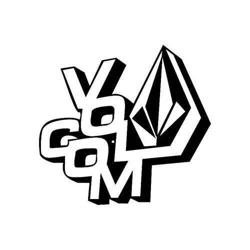 Volcom Logo Jdm Decal
