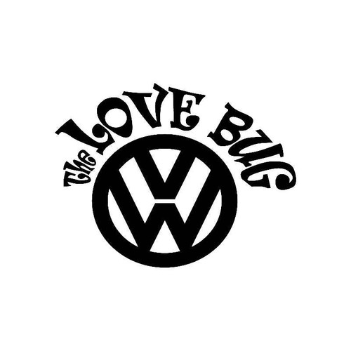 'Vw The Love Bug' Jdm Vw S Decal