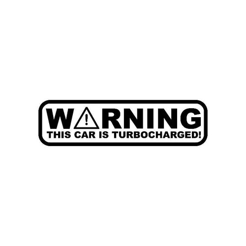 Warning This Is Supercharged Jdm Jdm S Decal
