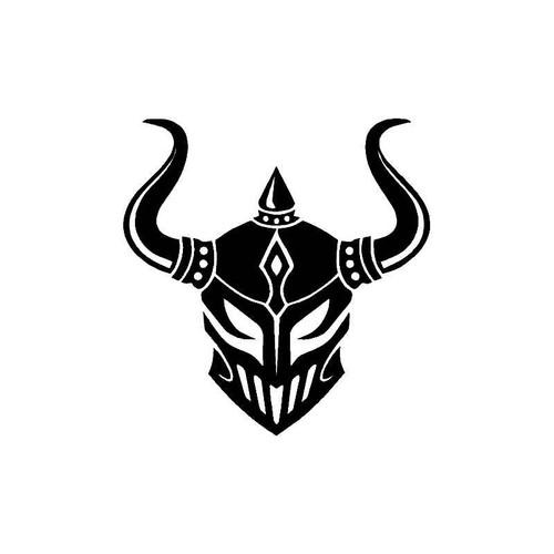 Warrior Head Piece Decal