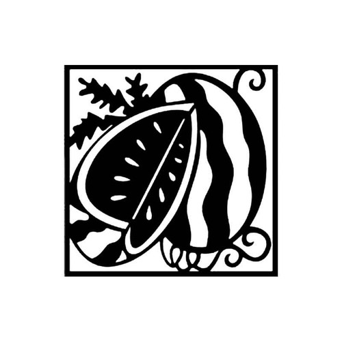 Water Melon S Decal