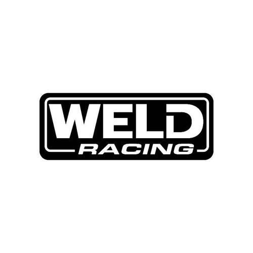 Weld Racing Logo Jdm Decal