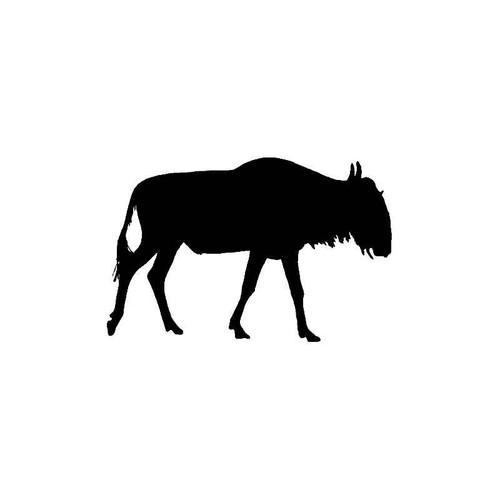 Wildebeest Decal