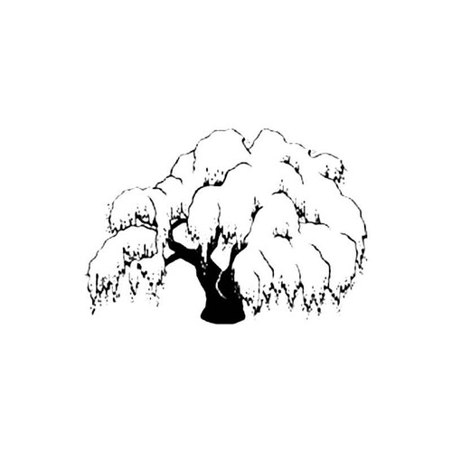 Willow Tree B S Decal