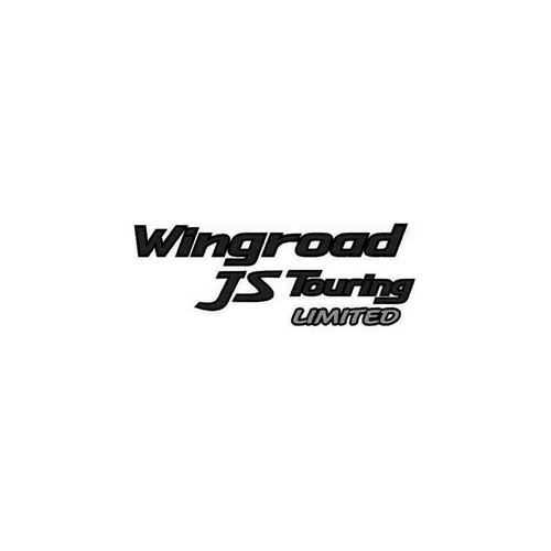 Wingroad Js Touring Limited Decal