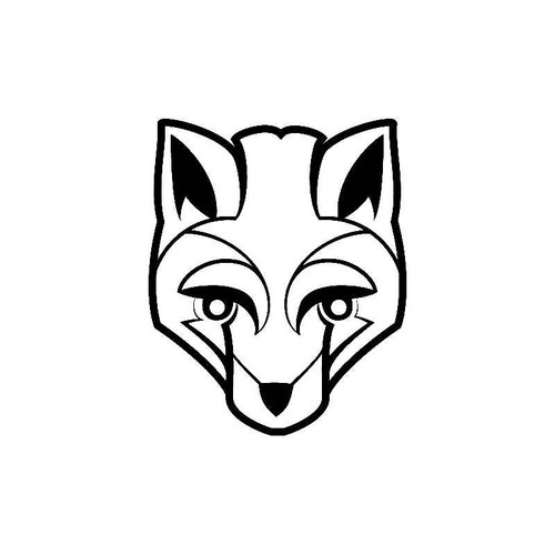 Wolf Art Decal