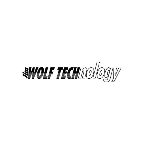 Wolf Technology Logo Jdm Decal