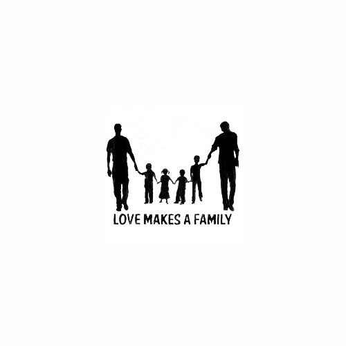 Love Makes a Family Decal Size option will determine the size from the longest side Industry standard high performance calendared vinyl film Cut from Oracle 651 2.5 mil Outdoor durability is 7 years Glossy surface finish