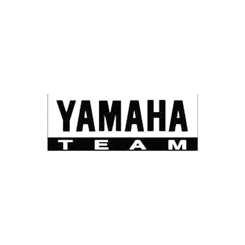Yamaha Team S Decal