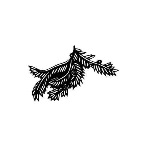 Yew Tree Branch S Decal