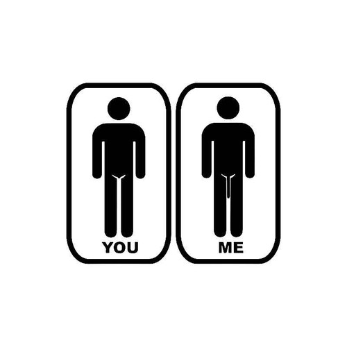 You And Me Decal