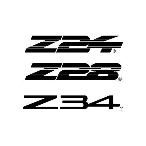 Z34 Z28 Z34 Logo Jdm Decal
