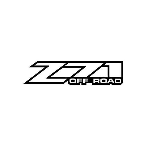 Z71 File 3 Logo Jdm Decal