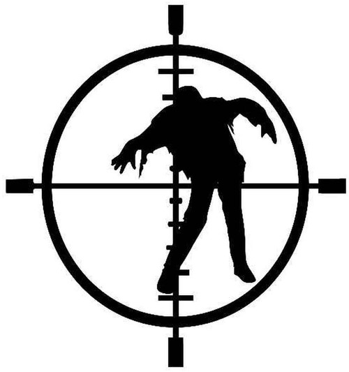 Zombie In Crosshairs