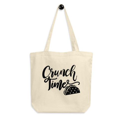 Eco Tote Bag : Crunch Time
