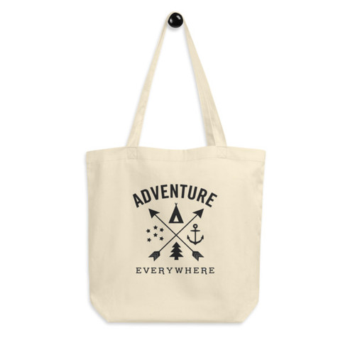 Eco Tote Bag : Adventure Everywhere