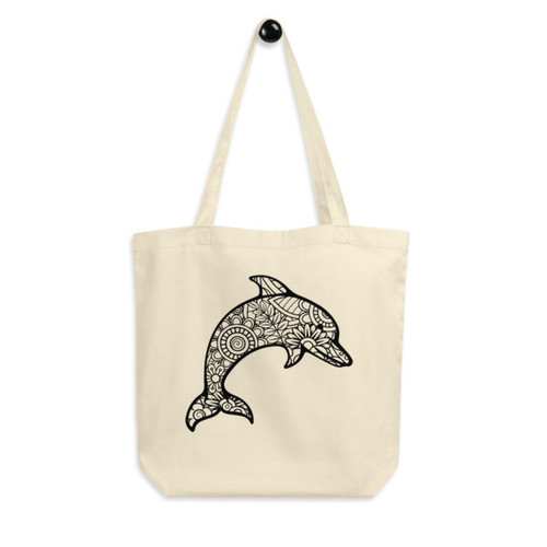 Eco Tote Bag : Dolphin