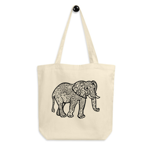 Eco Tote Bag : Elephant