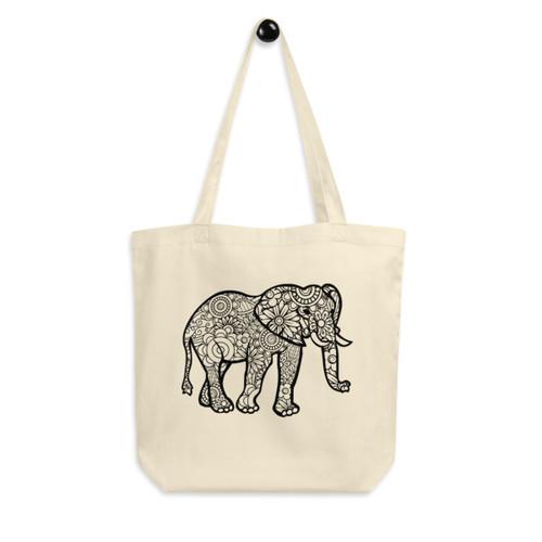 Eco Tote Bag : Elephant