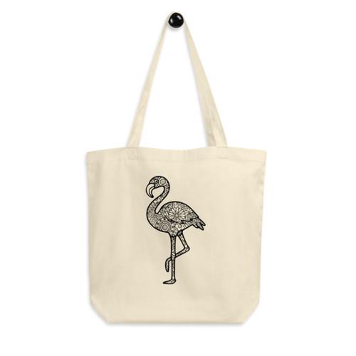 Eco Tote Bag : Flamingo