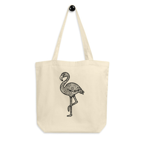 Eco Tote Bag : Flamingo