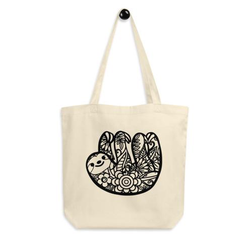 Eco Tote Bag : Sloth