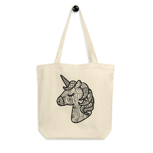 Eco Tote Bag : Unicorn