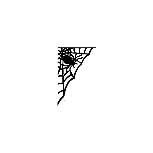 Spider Web Decal (01) Size option will determine the size from the longest side Industry standard high performance calendared vinyl film Cut from Oracle 651 2.5 mil Outdoor durability is 7 years Glossy surface finish