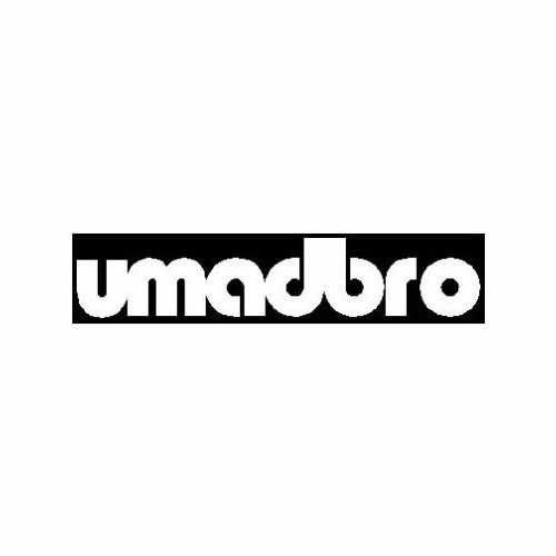 Saying Umadbro Box  Vinyl Decal Sticker  Size option will determine the size from the longest side Industry standard high performance calendared vinyl film Cut from Oracle 651 2.5 mil Outdoor durability is 7 years Glossy surface finish